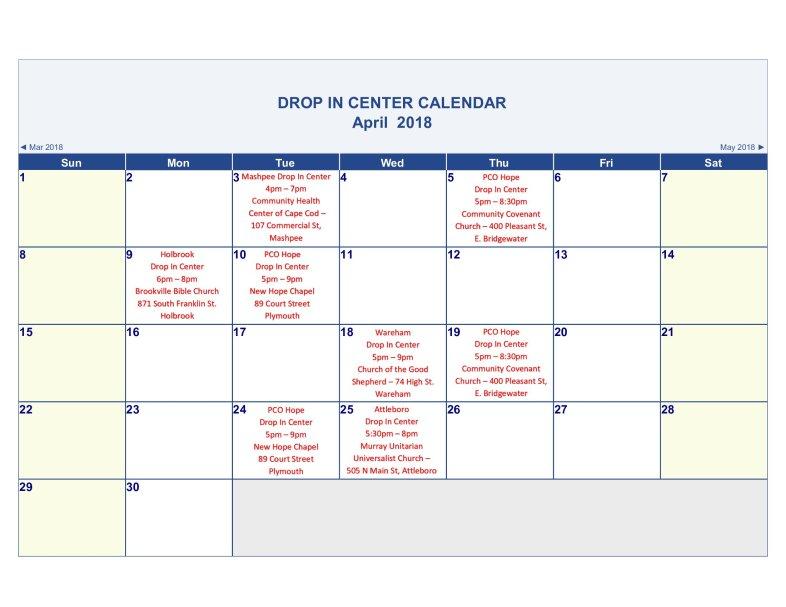 April-2018-Calendar